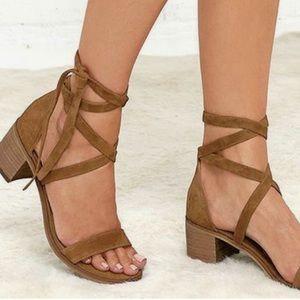 Steve Madden Ankle Strap Sandal Heels